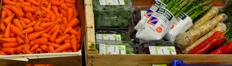 Fresh vegetables from Interfruit ltd Birmingham